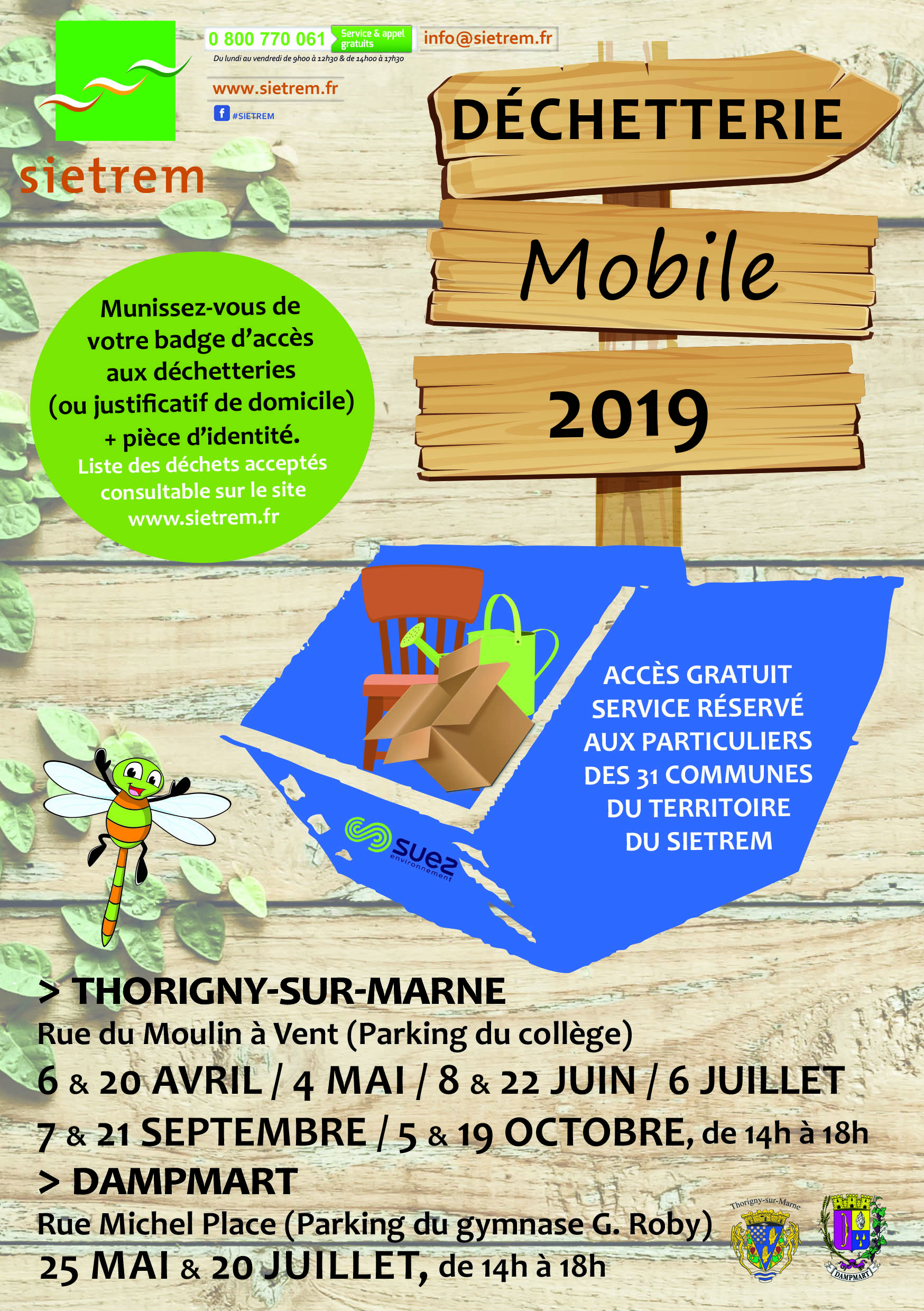 FLYER DECHETTERIE MOBILE2019 Recto