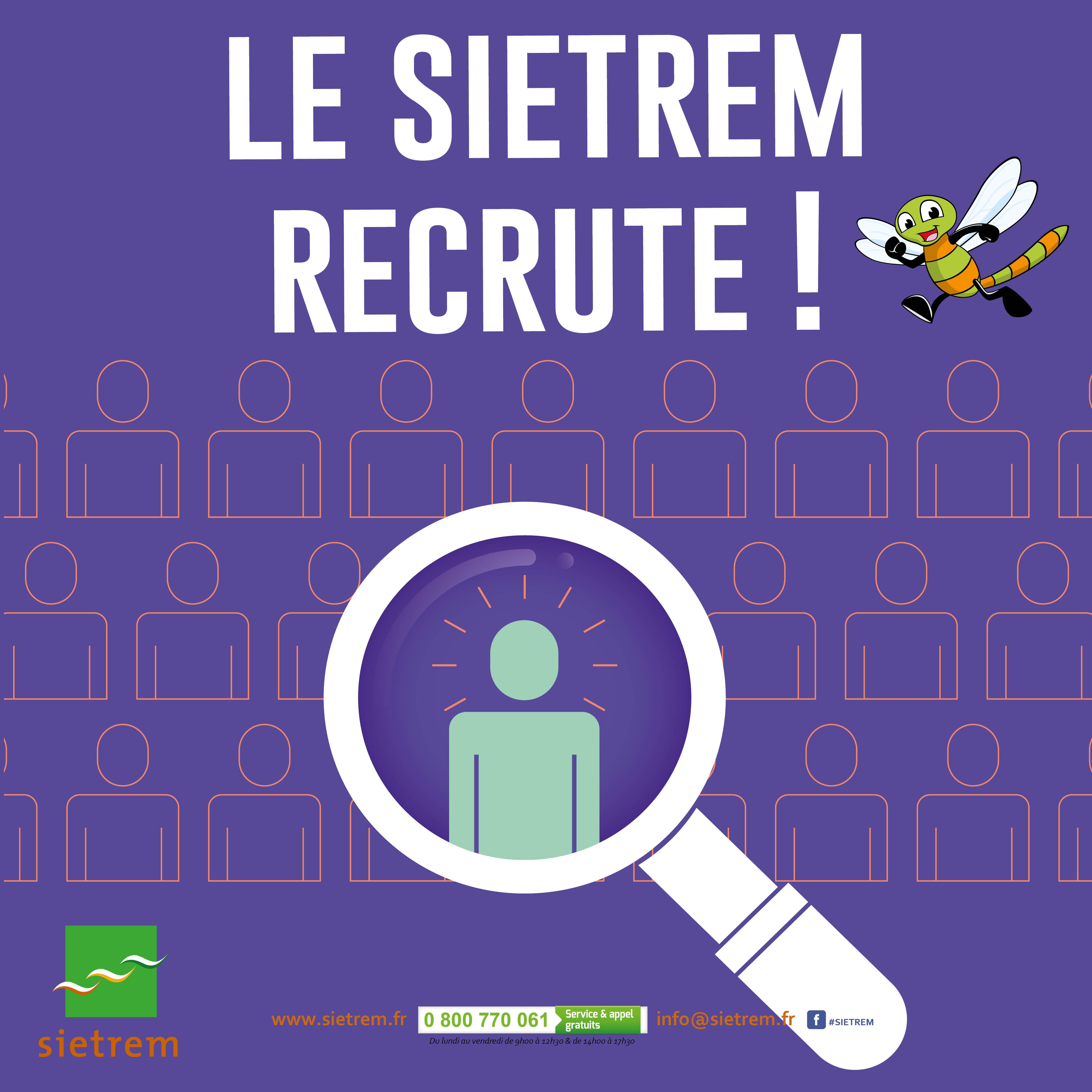 ade90400f7a Le Syndicat Mixte pour l Enlèvement et le Traitement des RÉsidus ménagers  (SIETREM) recrute un adjoint technique déchetteries.